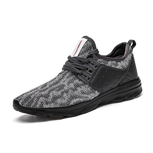 Para Hombre Zapatillas Gimnasio Walking Zapatillas Fitness Deportes de Ligero Zapatillas de Running, Color, Talla 40 EU