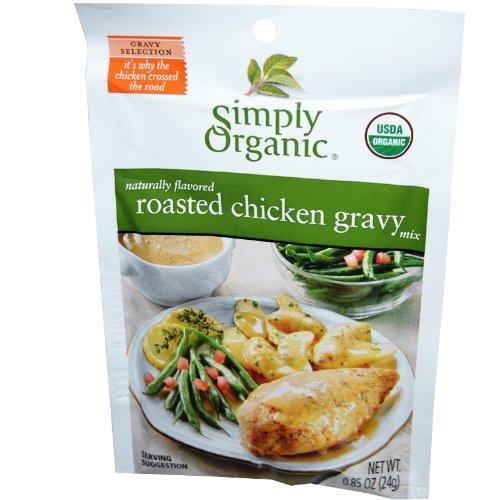 Chicken Mix Roasted Gravy (Simply Organic, Roasted Chicken Gravy Seasoning Mix, Organic, Gluten-Free)