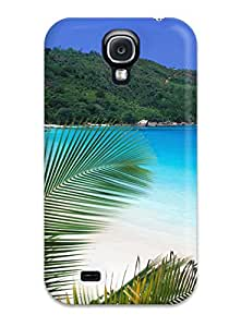 Best Excellent Galaxy S4 Case Tpu Cover Back Skin Protector Tropical Retreat Beach 7274707K59482163