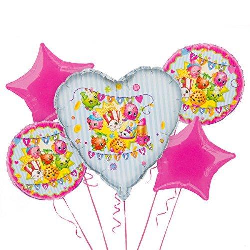 (Shopkins Balloon Bouquet Kit, 5pc)