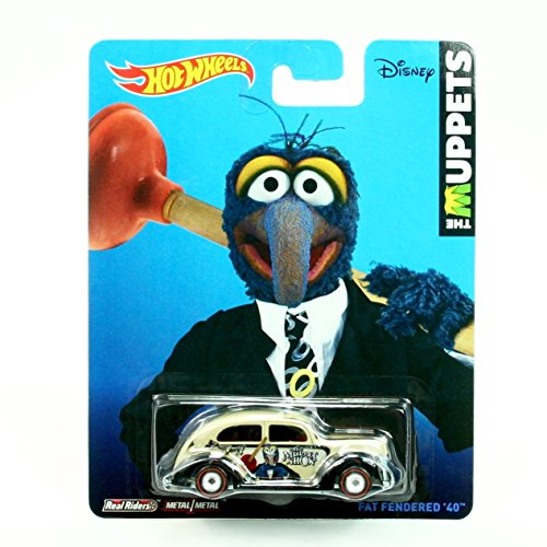 Gonzo / Fat Fendered '40 * Disney / The Muppets * 2014 Hot Wheels Pop Culture Series 1:64 Scale Die-Cast Vehicle - Gonzo Retro