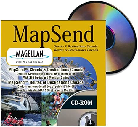 Magellan Canada Map Amazon.com: Magellan MapSend Streets and Destinations Canada