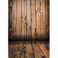 Qian Wooden Floor Studio Props Photography Background Vinyl Photo Backdrop 5x7ft jp02