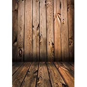 Qian Wooden Floor Studio Props Photography Background Vinyl Photo Backdrop 5x7ft jp02