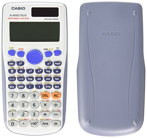 Casio FX300ESPLSWE Scientific Calculator, White Display