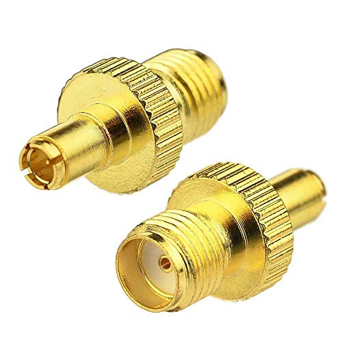 (CCYO Goldplated SMA Female Plug to TS9 Male Plug Connector Adapter for ZTE 3G USB Modem/Sierra Wireless USB Modem)
