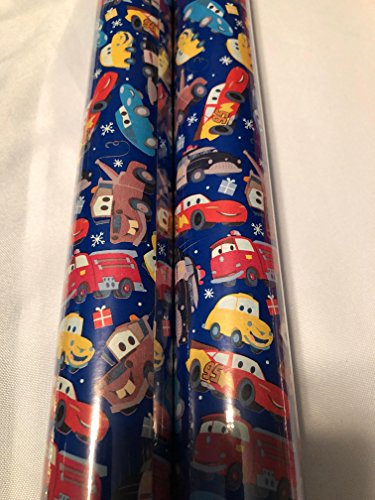 Holiday Christmas Gift Wrapping Paper - 20 sq ft Roll New 2017 Design (Disney - Macys Greenbrier