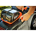 BLACK AND DECKER 60 V MAX POWERSWAP 20 In. 17 Powerswap lets you quickly swap batteries with the push of a button Autosense technology conserves Battery power when possible to give you extended runtime Includes 2) 2.5 Ah - 60V max Lithium batteries give you twice the runtime per re-charge