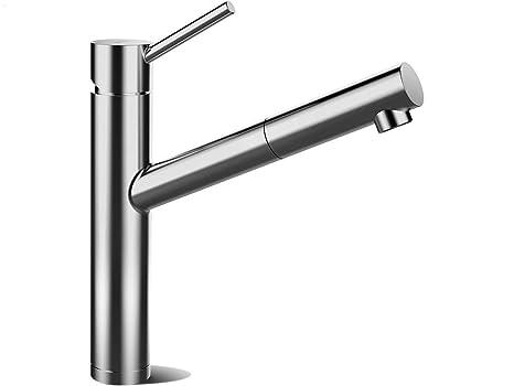 Shock contralti in acciaio inox massiccio sb siligranito rubinetto