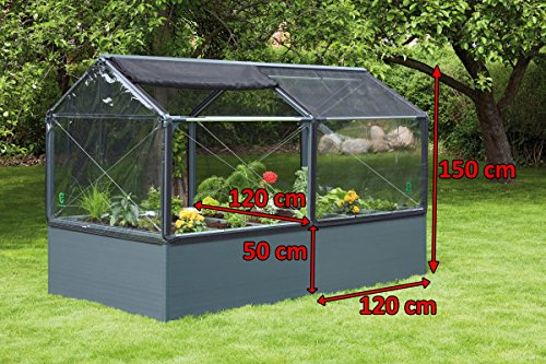Growcamp Anbaumodul 120 X 120 Cm Amazon De Garten