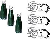 Bundle - 6 Items: 3 x Duckbill 68DTS Tree Anchor Kits with 3 x TreeGator Watering Bags