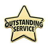 Set of 100 Lapel Pins - Outstanding Service