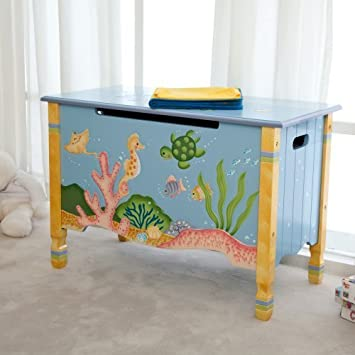 Teamson Kids Under The Sea Toy Chest
