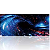 YEBMoo Extended Gaming Mouse Pad XXL Long Mouse Mat Large Mouse Pad Non-Slip Professional Precision Tracking Surface (35.4'' x 15.7'') for PC Computer Laptop (003heidong)