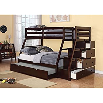 Amazon Acme Allentown Twin Twin Bunk Bed with Storage
