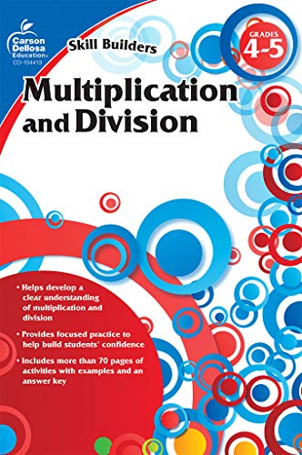 Multiplication and Division, Grades 4 - 5 (Skill Builders) ()