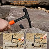 Rock Pick - 28 oz Geological Hammer with Pointed