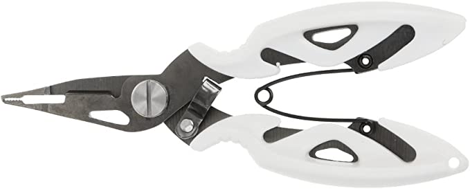 Multifonction en Acier Inoxydable Pinces Ciseaux ligne Cutter crochet outil avec anti-SL
