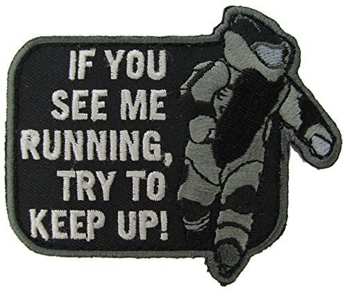 EOD Running Morale Patch (SWAT (Black)) by Mil-Spec Monkey AllTopBargains