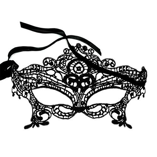 Masquerade Mask Women Lace Masquerade Ball Mask Venetian Swan Mardi Gras Halloween Costume Party Mask