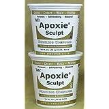 Apoxie Sculpt 4 lb. White, 2 Part Modeling Compound (A & B) (Color: White, Tamaño: 4 LB)