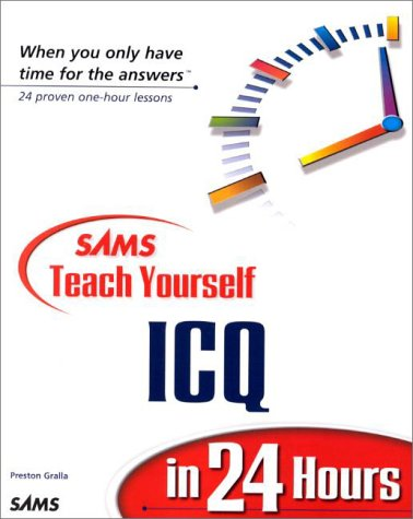 Sams Teach Yourself ICQ in 24 Hours
