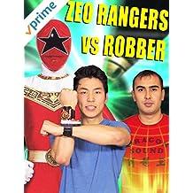 Zeo Rangers vs Robber