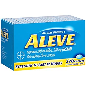 Aleve Caplets With Naproxen Sodium, 220mg (Nsaid) Pain Relieverfever Reducer, 270 Count 2