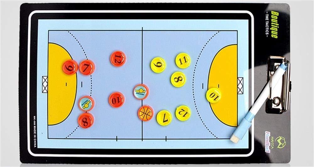 Balonmano T/áctica Magn/ética Coaching Board Atleta Competencia Regrabable Comando