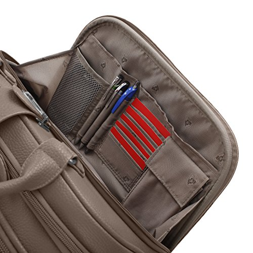 Heys America Nottingham Executive Business Case Rolling Luggage, Navy by HEYS AMERICA (Image #4)