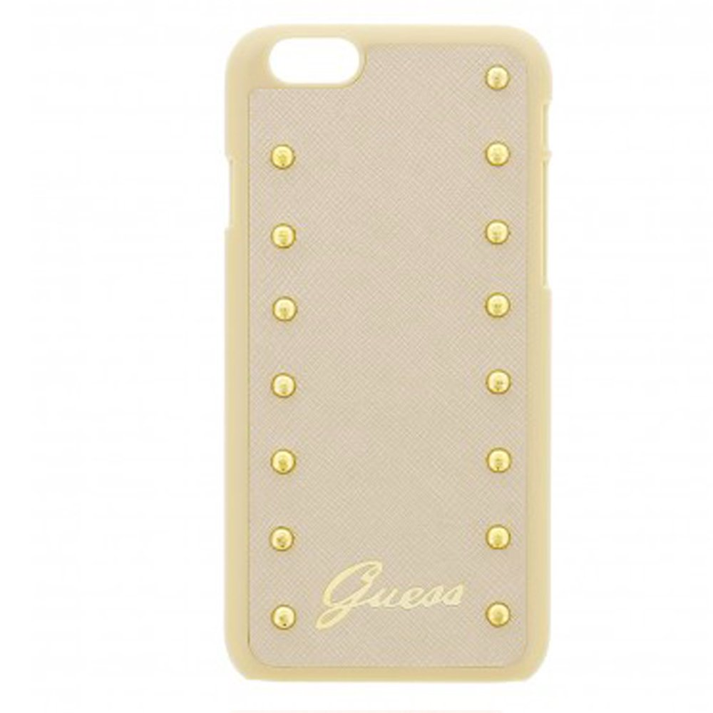 Guess iPhone6 Hard Case Studded Collection Cream: Amazon.in