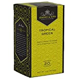 Harney & Sons Tropical Green Tea, 20 Tea Bags