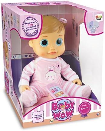 IMC Toys - 95212 - Baby Wow Tea bebé interattiva impara a parlare (Lingua Italiana)