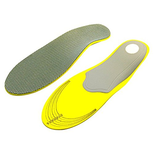 Inside Zone Running Game (Dicheng Trainer Athletic Cushioning Arch Support Shoe Insoles, Unisex Adult Sports Insole for Men and Women (Men's (8-12 US))