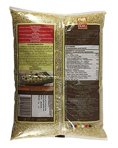 Trigo bulgur fino Duru, 2.2 libras: Amazon.com: Grocery ...