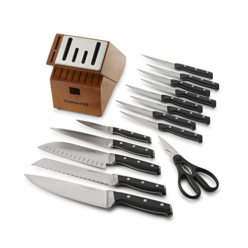 calphalon classic self sharpening 15 pc cutlery knife block set new ebay. Black Bedroom Furniture Sets. Home Design Ideas