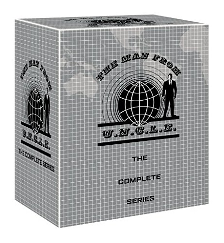 DVD : The Man from U.N.C.L.E.: The Complete Series (Gift Set, Boxed Set, Repackaged, 41 Disc)