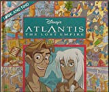 Look and Find - Disney's Atlantis, The Lost Empire - Hardcover - First Edition, 1st Printing 2001