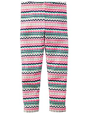 Fair Isle Leggings - Toddler Girls 2t-5t