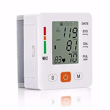 LiuHanQing Monitor de presión arterial Cuidado De La Salud Nuevo Tensiometro Digital De Muñeca Monitor De Presión Arterial Esfigmomanómetro Automático ...