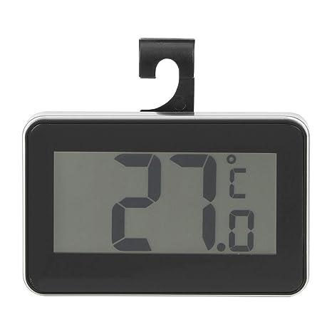 Garsent Termómetro Digital LCD, termómetro electrónico de Alta precisión, Resistente al Agua, para