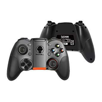Luxtech Gamepad Bluetooth Dual 4 Wireless Game Controller Teléfono Multifuncional Gamepad para Android TV/PC