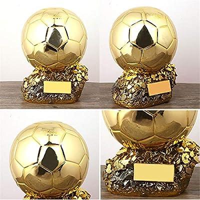 PTKU Resina ArtesaníA Trofeo De FúTbol,BalóN De Oro Recuerdo,con ...