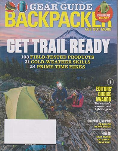 Backpacker November 2018 Get Trail Ready - Gear Guide