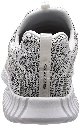 Sneakers Black Uomo White Skechers 52641 01wwg
