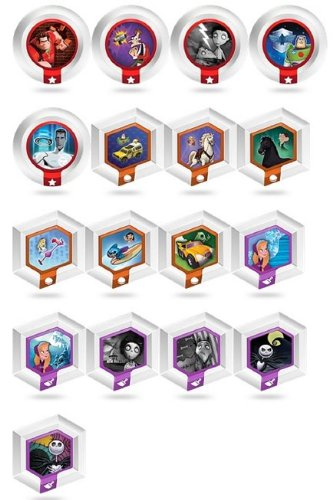 Disney Infinity Power Disc Complete Series 2 Set of 20
