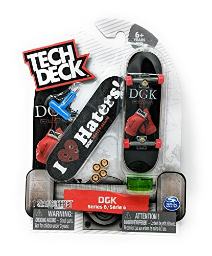 Tech Deck DGK Motivation I Love Haters Marquise Henry Ultra Rare Series 6 Fingerboard with Griptape