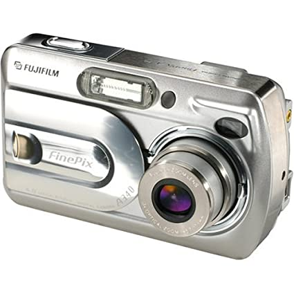 amazon com fujifilm a340 4mp digital camera with 3x optical zoom rh amazon com Fuji FinePix SLR Camera