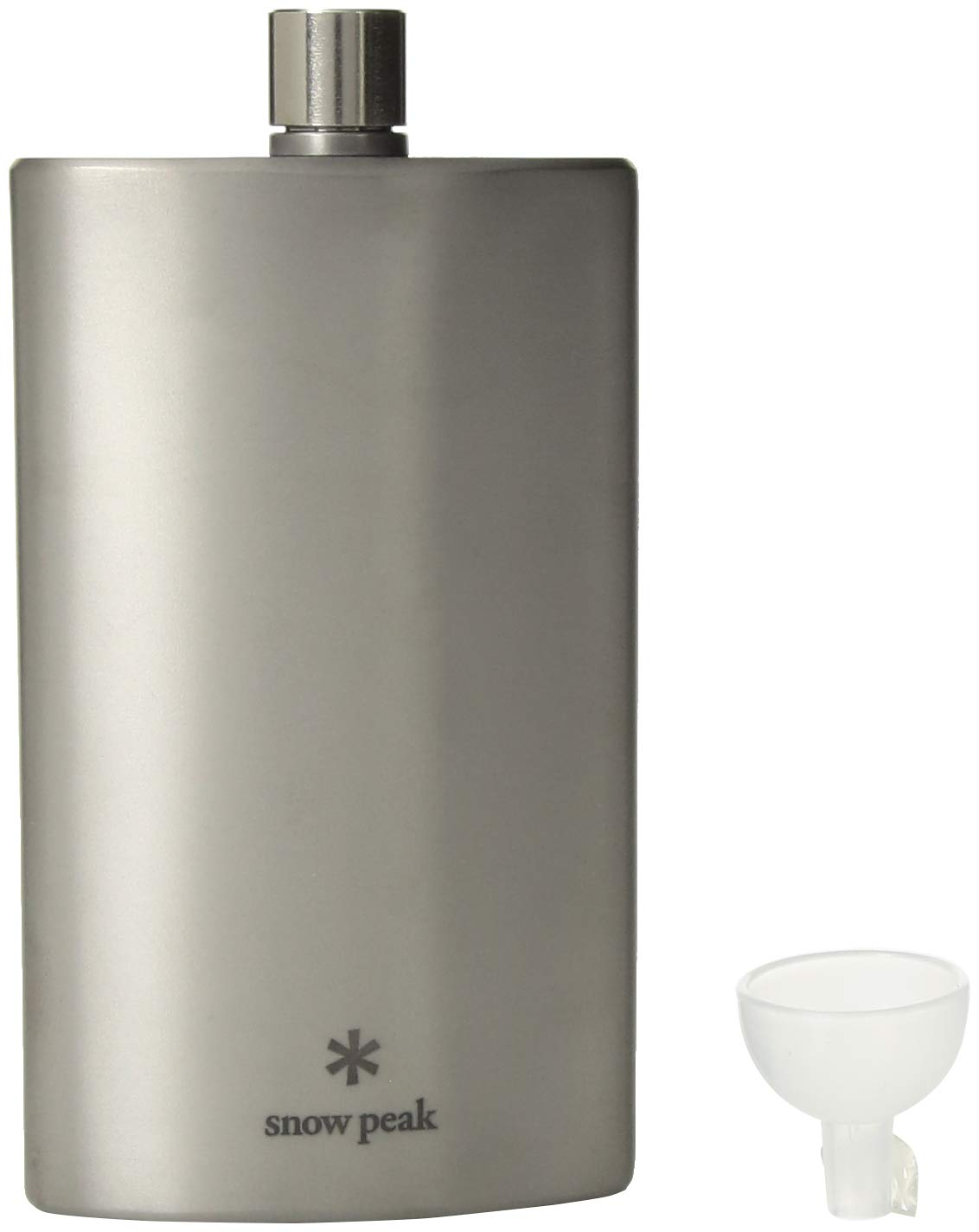 Snow Peak Trinkflasche Medium Titanium Flask