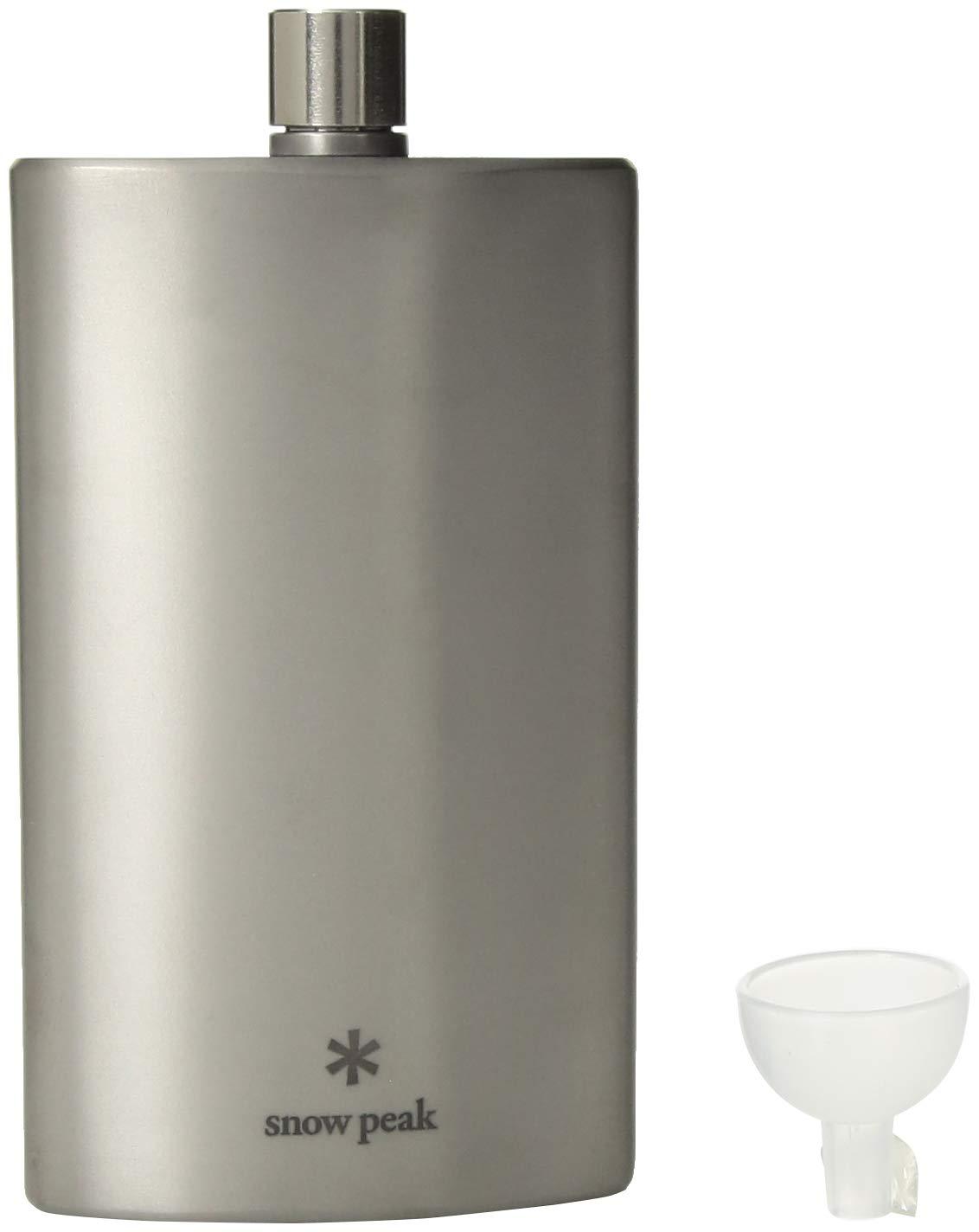 Snow Peak Trinkflasche Large Titanium Flask